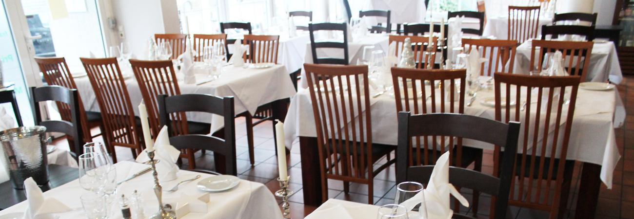Das Restaurant il nido in Köln Rodenkirchen freut sich über Ihre Reservierung.
